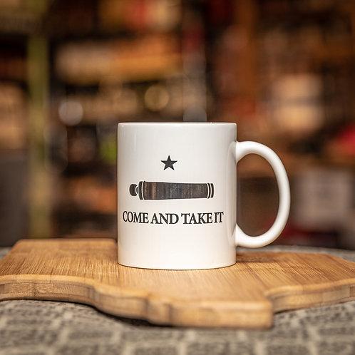 Come and Take It Mug - White