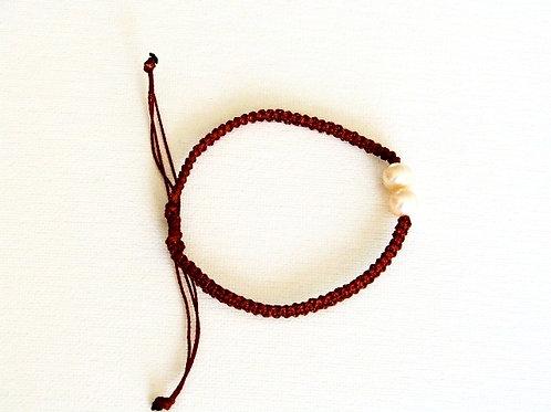 Rope & Pearl Bracelet Tonga