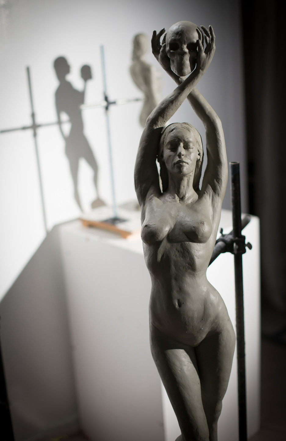 """""""A Love Remembered"""" sculpture"""