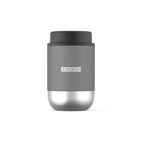 ZOKU 真空不鏽鋼食物罐 475ml - 炭灰色