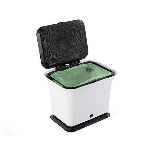 Full Circle Fresh Air 廚房防異味可堆肥廚餘收集垃圾桶(白色 / 灰色)