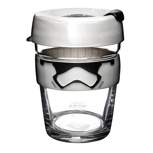 KeepCup Brew 鋼化玻璃外帶杯 M / 12oz / 340ml - 白兵(Star Wars Edition)