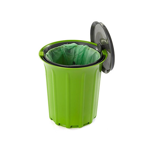 Full Circle Breeze 工作枱防異味可堆肥廚餘收集垃圾桶綠色