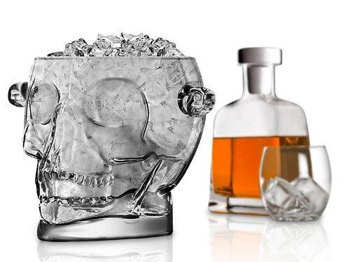 Final Touch 骷髏頭造型玻璃冰桶 1.6L