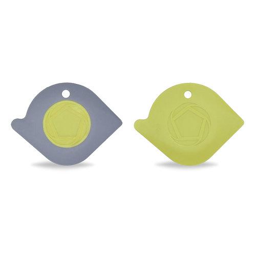 Full Circle Power Couple 鍋具清潔刮板(灰/綠)