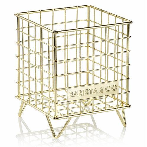 Barista & Co 咖啡膠囊儲存器 - 金色