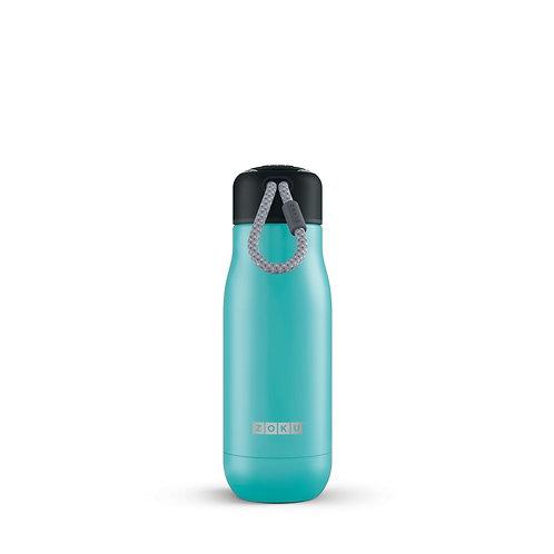 ZOKU 真空不鏽鋼保溫瓶水樽藍綠色 (350ml)