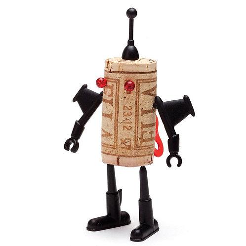 Monkey Business Corkers Robots 紅酒軟木塞玩偶機械人路加