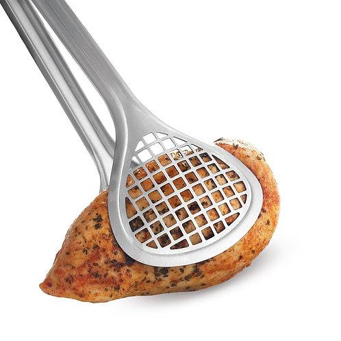 Cuisipro 不銹鋼闊身過濾網食物夾