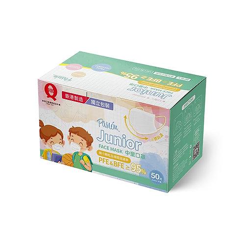 Pasion 中童口罩 50片/盒