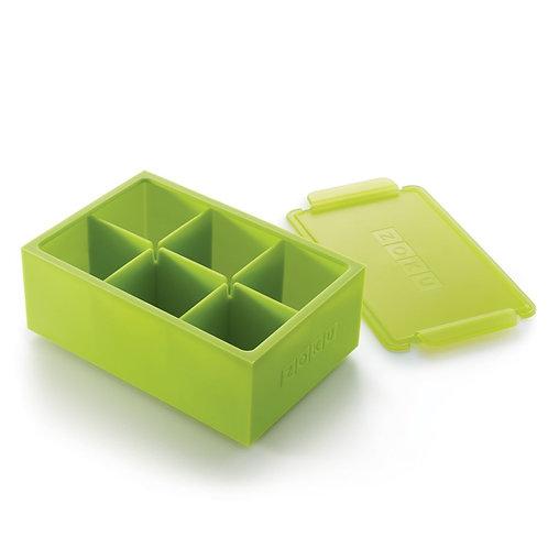 ZOKU特大號方磚矽膠冰格盒 (2件裝)