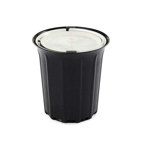 Full Circle Breeze 工作枱防異味可堆肥廚餘收集垃圾桶灰色