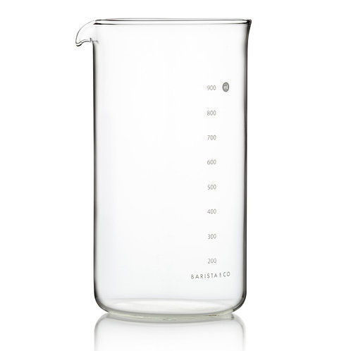 Barista & Co 4mm厚玻璃咖啡杯(8 Cup / 3 Mug / 1000ml)- 適用於環形法式咖啡濾壓壺