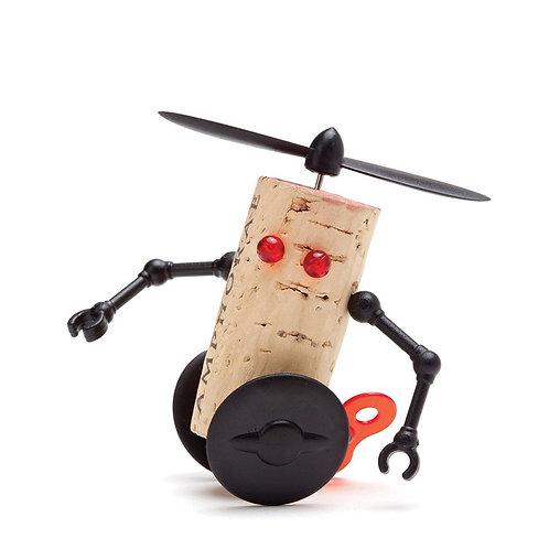 Monkey Business Corkers Robots 紅酒軟木塞玩偶機械人威利