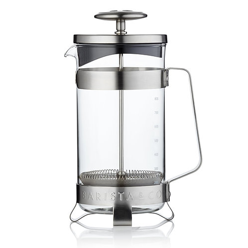 Barista & Co 不銹鋼法式咖啡濾壓壺 (8 Cup / 3 Mug)
