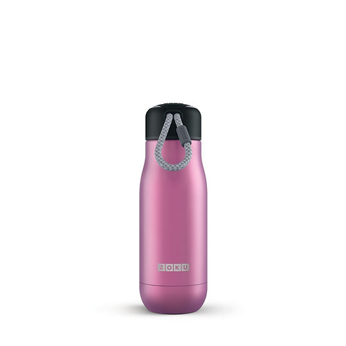ZOKU 真空不鏽鋼保溫瓶水樽巨峰紫 (350ml)
