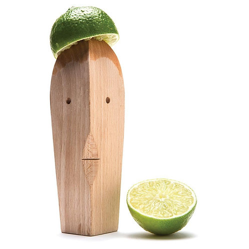 Monkey Business Juice Bruce 木製檸檬榨汁器