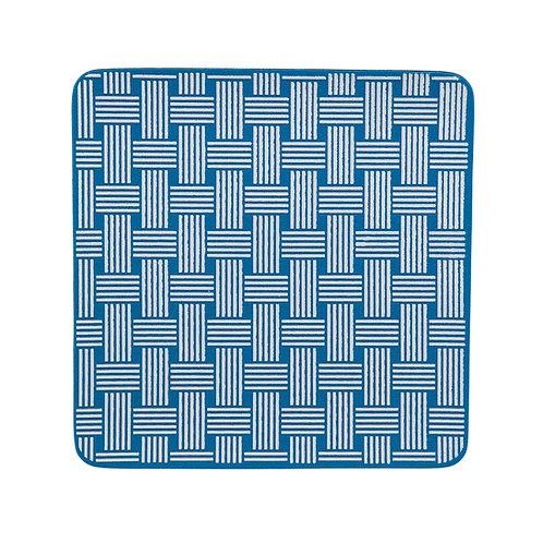 KitchenGrips 防滑隔熱墊 - 藍莓色 x 白色編織圖案(2件裝)