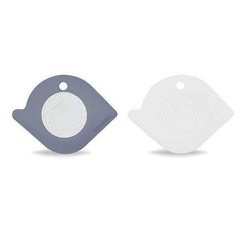 Full Circle Power Couple 鍋具清潔刮板(灰/白)
