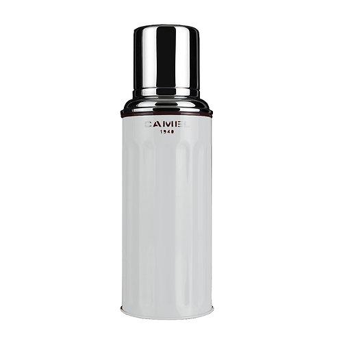 駱駝牌 Camel 112 雙層真空玻璃膽保溫瓶 450ml - 灰白色 112GW