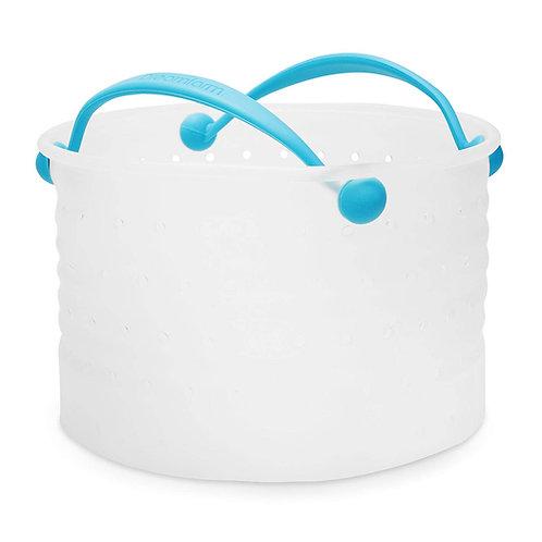 Dreamfarm Vebo 矽膠蔬菜水煮鍋內濾籃大(適用於蒸煮、水煮、清洗和隔水)