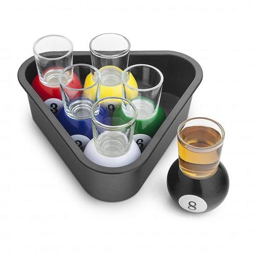 Final Touch 美式桌球玻璃烈酒一口杯 30ml(六隻裝)
