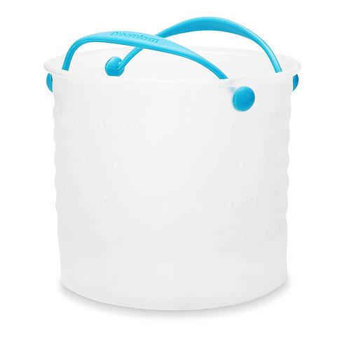 Dreamfarm Vebo 矽膠蔬菜水煮鍋內濾籃小(適用於蒸煮、水煮、清洗和隔水)