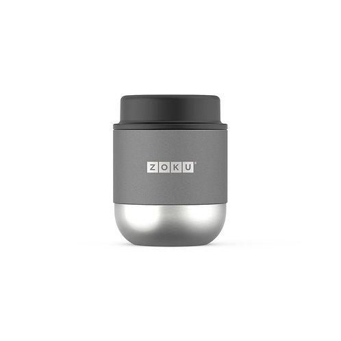 ZOKU 真空不鏽鋼食物罐 295ml - 炭灰色