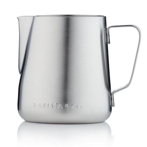Barista & Co 不銹鋼奶壺(420ml) - 不銹鋼色