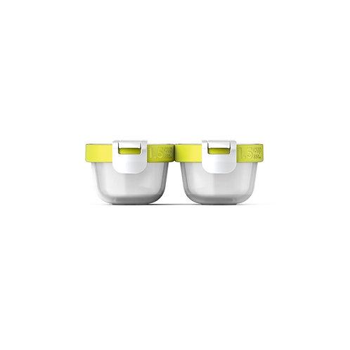 ZOKU Neat Stack 可嵌式食物盒飯盒套裝(4件裝)