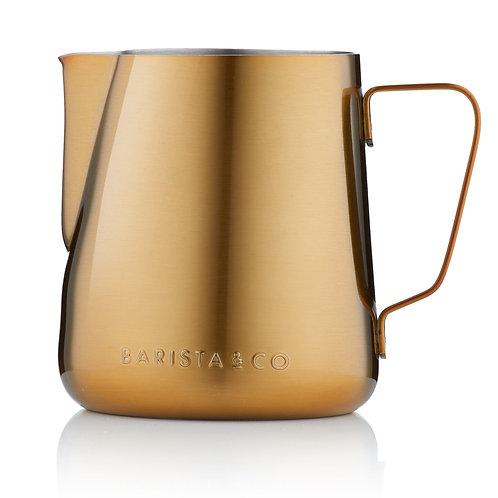 Barista & Co 不銹鋼奶壺(420ml) - 金色