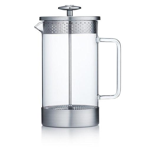 Barista & Co 咖啡法式濾壓壺 1000ml - 不銹鋼