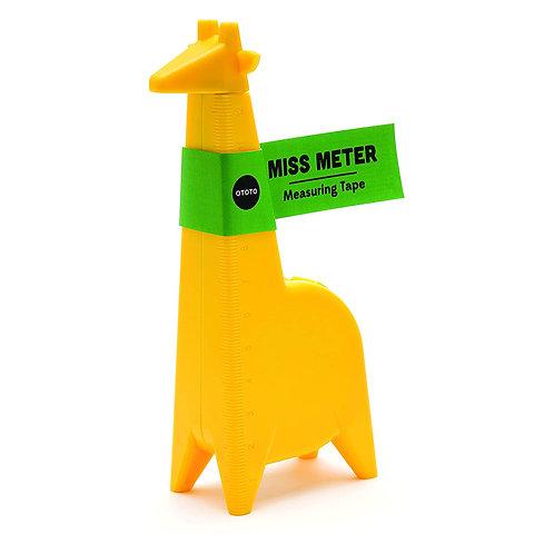 OTOTO MISS METER 長頸鹿小姐捲尺
