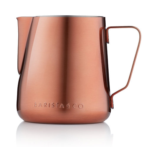 Barista & Co 不銹鋼奶壺(420ml) - 銅色