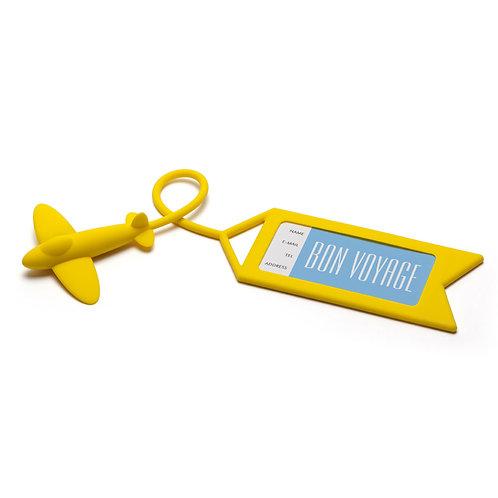 OTOTO TAG ME 和你飛行李吊牌黃色