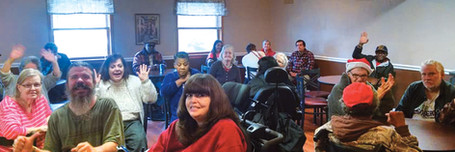 Gathering room at Patriot