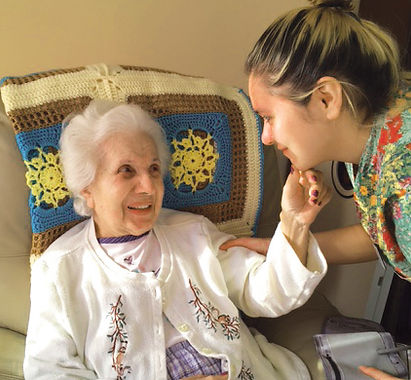 Care givers are trained professionals ready to assist