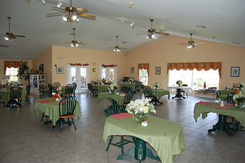 Rosewood Manor Vero Beach dining room