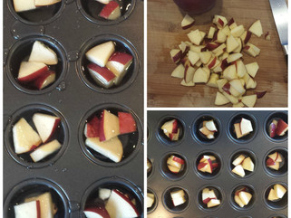Mini Apple Frozen Dog Treats