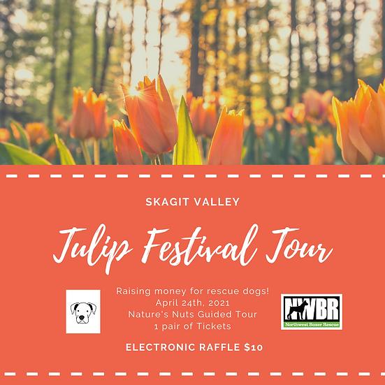 Tulip Festival Tour Raffle Ticket