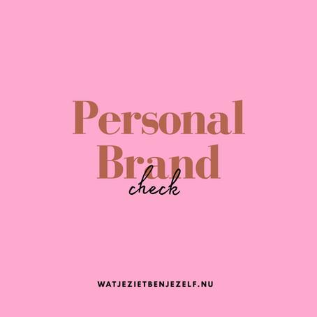 Personal Brand Check