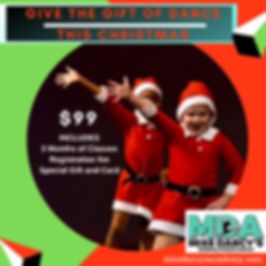 Give the gift of dance This Christmas-2.