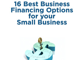 16 Best Business Financing Options for your Small Business