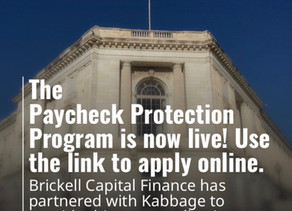 The Paycheck Protection Program is now live! You can apply though this link......