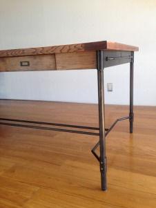 オーダー家具,ダイニングテーブル,インダストリアル