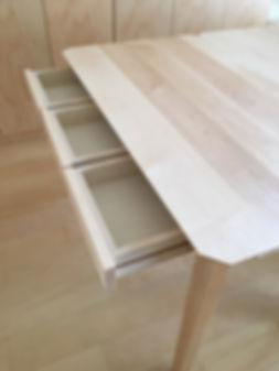 オーダー家具,ローテーブル,オーク,インダストリアル