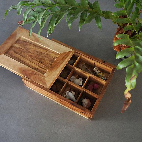 アカシアの木箱