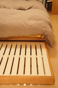 オーダー家具,インテリア,ベッド,無垢
