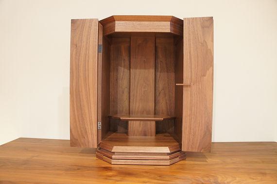 オーダー家具、東京、無垢家具、ウォールナット、仏壇