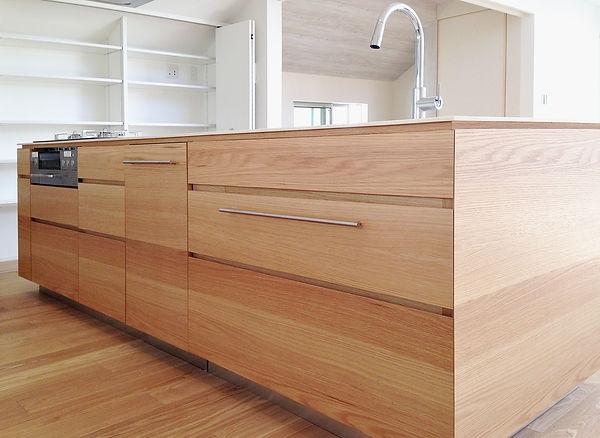 オーダー家具、オーダーキッチン、無垢